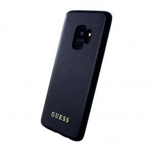 Guess Iridescent Hülle Hardcover für Samsung Galaxy S9 Schwarz