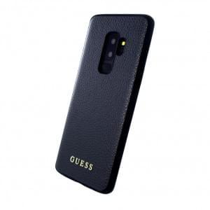 Guess Iridescent Hülle / Hardcover für Samsung Galaxy S9 Plus Schwarz
