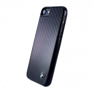 BMW Carbon Fiber Hardcover Apple iPhone SE 2020 8 / 7 Schwarz