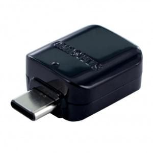 Original Samsung OTG Adapter USB Typ C auf USB - Schwarz