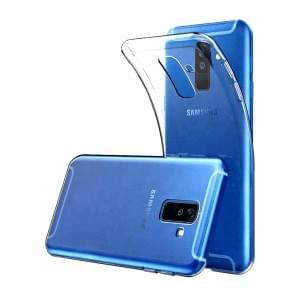 Ultra Dünn Silikon Case für Samsung Galaxy A6 (2018) Transparent