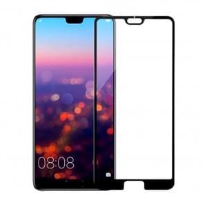 5D Displayschutzglas für Huawei P20 Tempered Glass Schwarz