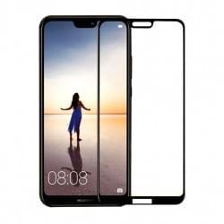 5D Displayschutzglas für Huawei P20 Lite Tempered Glass Schwarz