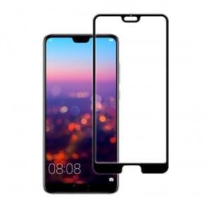 5D Displayschutzglas für Huawei P20 Pro Tempered Glass Schwarz