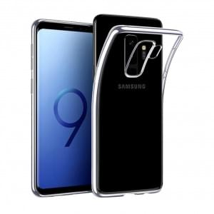 Silikon Case für Samsung Galaxy S9 Plus - Transparent