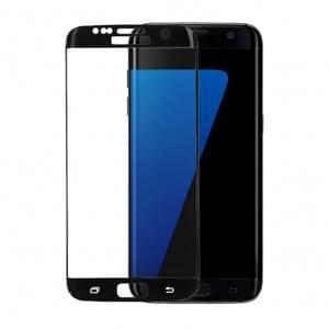 Samsung Galaxy S6 Edge 3D Glas Displayschutz / Displayschutzfolie Schwarz