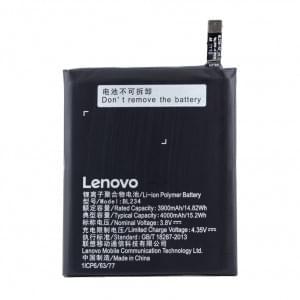 Original Lenovo Akku BL-234 für P70t / A5000 Dual / Vibe P1m mit 4000mAh