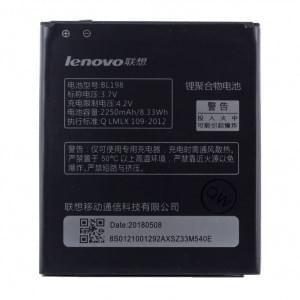 Original Lenovo Akku BL-198 für A860 / A830 / A850 / S880 / K860 mit 2250mAh