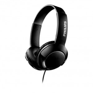 Philips SHL3070BK Bass+ On-Ear Kopfhörer 3.5mm Anschluss Schwarz
