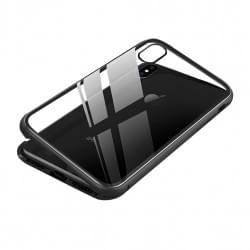 Magnet Hülle für iPhone XR Schwarz