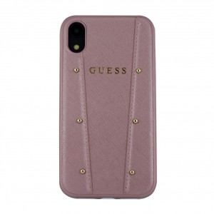 Guess Kaia Schutzhülle / Hardcover für iPhone XS Max - Rose Gold