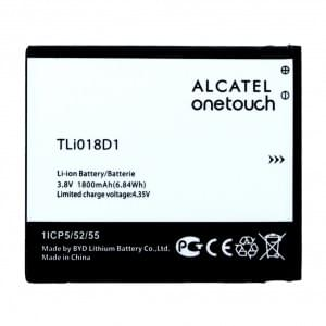 Original Alcatel Akku TLi018D1 für One Touch Pop D5 / 5038D mit 1800mAh