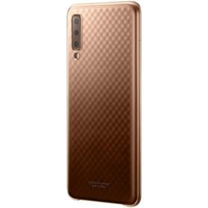 Original Samsung Gradation Cover Galaxy A7 2018 EF-AA750CFE Gold