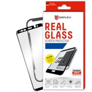 3D Displex Panzerglas + Rahmen Samsung Galaxy A9 2018 Displayschutz Glasfolie schwarz
