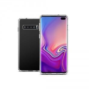 Ultra Dünn Silikon Hülle Samsung Galaxy S10 transparent