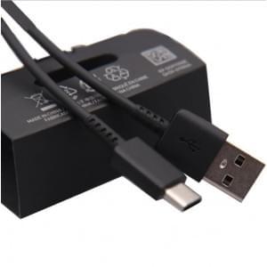 Original Samsung Datenkabel / Ladekabel EP-DG970BBE USB Type C Schwarz