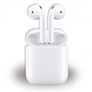 Original Apple AirPods 2 Generation MV7N2ZM/A Stereo Bluetooth Headset Weiss