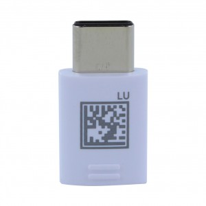 Original Samsung Adapter Micro USB auf Type C Stecker Weiss