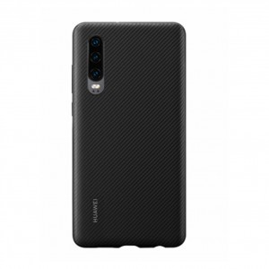 Original Huawei Protective PU Case / Hülle für Huawei P30 Schwarz