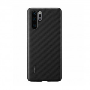 Original Huawei Protective PU Case / Hülle für Huawei P30 Pro Schwarz