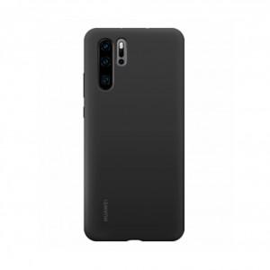 Original Huawei Silikon Case / Hülle für Huawei P30 Pro Schwarz