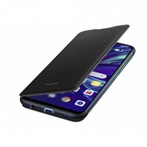 Original Huawei Smart Flip Cover / Tasche für Huawei P Smart 2019 Schwarz