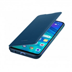 Original Huawei Smart Flip Cover / Tasche für Huawei P Smart 2019 Blau