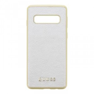 Guess Iridescent Hard Case / Hülle Samsung Galaxy S10 Gold