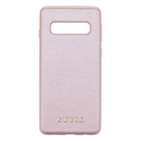 Guess Iridescent Hard Case / Cover für Samsung Galaxy S10 Rose Gold