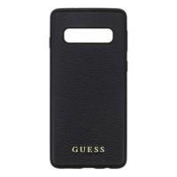 Guess Iridescent Hard Case / Hülle für Samsung Galaxy S10 Schwarz