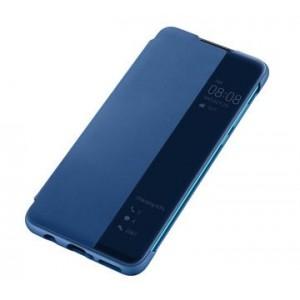 Original Huawei Flip View Cover für Huawei P30 Lite Blau