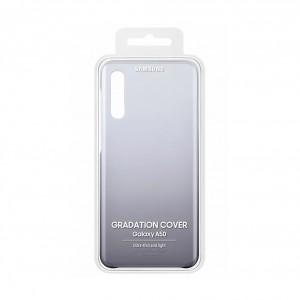 Original Samsung EF-AA505CBE Gradation Cover Galaxy A50 (2019) Schwarz
