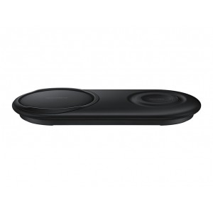 Samsung EP-P5200 Original Induktiv Qi Wireless Dual Lade Pad mit Typ C Kabel Schwarz