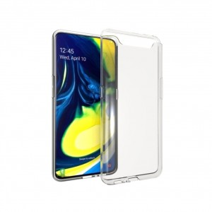 Silikon Hülle für Samsung Galaxy A80 / A90 Ultra Dünn transparent