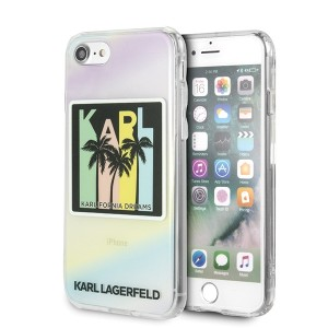 Karl Lagerfeld iPhone SE 2020 / iPhone 8 / 7 Kalifornia Dreams Palms Hülle