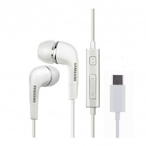 Original Samsung EHS64 AVFWE Stereo Headset Typ C Weiss