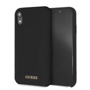 Guess Silikon Impact Case / Hülle für iPhone Xr Schwarz