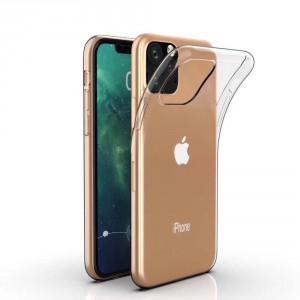 Hülle / Silikon Case iPhone XI Transparent