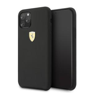 Ferrari On Track SF Silikon Hülle iPhone 11 Pro Schwarz