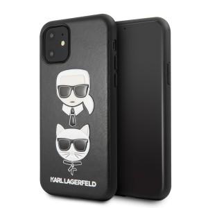Karl Lagerfeld Choupette Embossed Hülle iPhone 11 Pro Schwarz