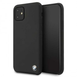 BMW Silikon Cover / Hülle iPhone 11 Pro Max Schwarz