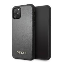 Guess Hülle Iridescent Kollektion iPhone 11 Pro Schwarz
