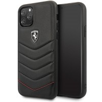 Ferrari Heritage Quilted iPhone 11 Pro Leder Handyhülle