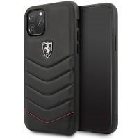 Ferrari Heritage Quilted iPhone 11 Leder Handyhülle