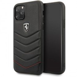 Ferrari Heritage Quilted iPhone 11 Pro Max Leder Handyhülle