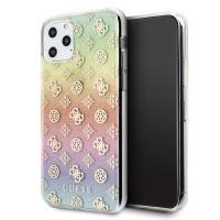 Guess 4G Peony Iridescent Schutzhülle iPhone 11 Pro Max Mehrfarbig