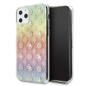 Guess 4G Peony Iridescent Schutzhülle iPhone 11 Pro Max Mehrfarbig
