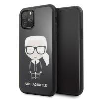 Karl Lagerfeld Iconic Double Layer Schutzhülle iPhone 11 Pro Schwarz