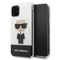 Karl Lagerfeld Iconic Schutzhülle iPhone 11 Pro Transparent