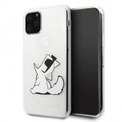 Karl Lagerfeld Choupette Gradient Schutzhülle iPhone 11 Pro Max Transparent